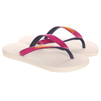 Вьетнамки Havaianas Top Mix White/Purple/Pink