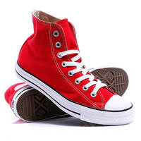 Кеды кроссовки высокие Converse Chuck Taylor As Core Unisex Canvas Hi M9621 Red