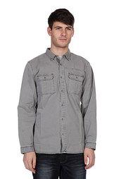 Рубашка Converse Classic Woven Grey