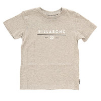 Футболка детская Billabong Unity Boys Grey Heather
