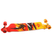 Лонгборд Dusters Thirds Drop-down Longboard Red/Yellow 9.75 x 41.25 (105 см)