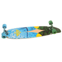Лонгборд Dusters Bio Longboard Blue/Yellow 9.5 x 38 (96.5 см)