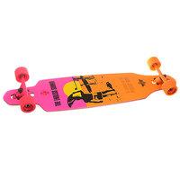 Лонгборд Dusters Endless Summer Wake Yellow/Orange/Pink 9.375 x 38 (96.5 см)