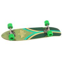 Скейт мини круизер Dusters Flashback Cruiser Kryptonics Green 7.9 x 28 (71.1 см)