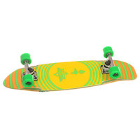 Скейт мини круизер Dusters Bird Cruiser Kryptonics Green 7.5 x 27 (68.6 см)
