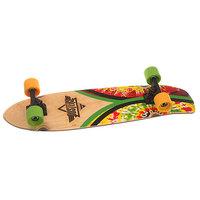 Скейт круизер Dusters Flashback Cruiser Rasta Tie Dye 7 x 31 (78.7 см)