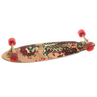 Скейт круизер Dusters Grateful Dead Bertha Longboard Brown 8.75 x 35 (89 см)