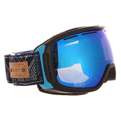 Маска для сноуборда женская Roxy Rockferry Clematis Blue