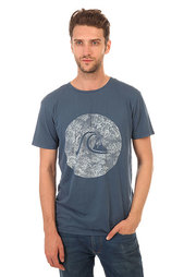 Футболка Quiksilver Gardyed Sunset Tees Dark Denim