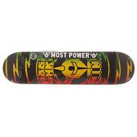 Дека для скейтборда для скейтборда Darkstar S6 Rhm Shock V2 Rasta 31.2 x 7.75 (19.7 см)