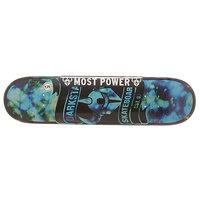 Дека для скейтборда для скейтборда Darkstar S6 Hyb Scroll Blue 31.2 x 7.75 (19.7 см)