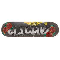 Дека для скейтборда для скейтборда Cliche S6 Hyb Handwritten Tattoo Multi 31.8 x 8.375 (21.3 см)
