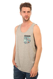Майка Billabong Transmit Tank Grey Heather