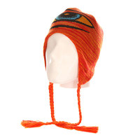Шапка ушанка Toy Machine Sect Eye Shepra Red/Orange