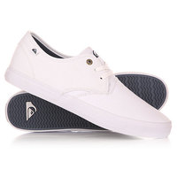 Кеды кроссовки низкие Quiksilver Shorebreak M Shoe Xwww White/White/White