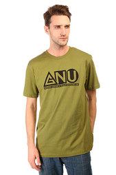 Футболка GNU Мужская Shaper Tee Olive
