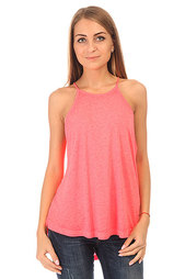 Майка женская Billabong Essential Tank Point Neon Coral
