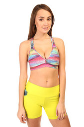Топ женский CajuBrasil Supplex Top Stripe Multi