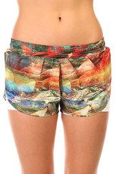 Шорты пляжные женские CajuBrasil Tafetб Beach Shorts Multi