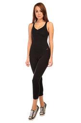 Комбинезон для фитнеса женский CajuBrasil New Zealand Anback Overall Black