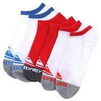 Носки низкие Quiksilver 3pk Basic Collection Ns Multi