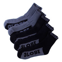 Носки Globe New Tradie Crew Black/Grey (5-Pack)