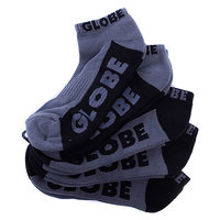 Носки Globe New Tradie Ankle Black/Grey (5-Pack)