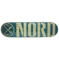 Дека для скейтборда для скейтборда Nord Logo Green/Beige 32 x 8.25 (21 см)