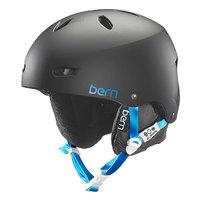 Шлем для сноуборда женский Bern Snow Hardhat Brighton Matte Black/Black Liner