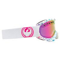 Маска для сноуборда Dragon Dxs Pinkicon Logo Pink Ion+a