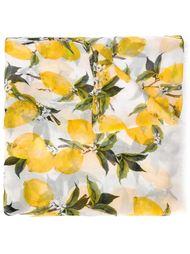 шарф с принтом лимонов Dolce & Gabbana