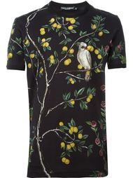 футболка с принтом лимонного дерева Dolce & Gabbana