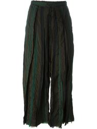 укороченные брюки со складками Lost & Found Ria Dunn