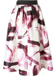 юбка с эффектом мазков кисти Dolce & Gabbana