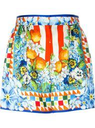 шорты с цветочным узором Dolce & Gabbana