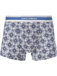 трусы с принтом Dolce & Gabbana Underwear