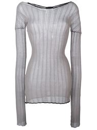 longsleeved ribbed top Lost & Found Ria Dunn