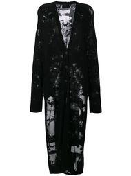 buttoned cardi-coat Lost & Found Ria Dunn