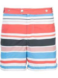 шорты для плавания в полоску Solid & Striped