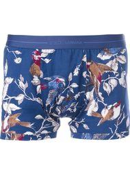 трусы с принтом птиц Dolce & Gabbana Underwear