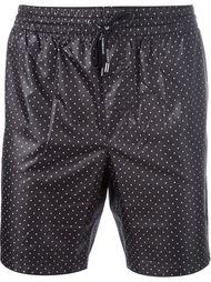 шорты для плавания в горошек Dolce & Gabbana