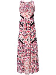flower print long dress Sam & Lavi