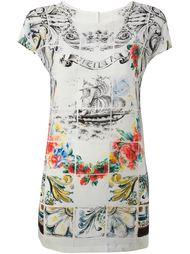 футболка 'Sicilia' с морской тематикой Dolce & Gabbana