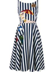 платье в полоску  Dolce & Gabbana