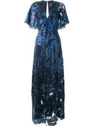 платье с узором  GINGER & SMART