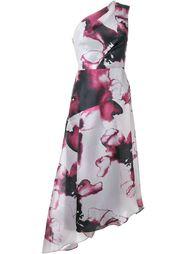 Obscura One shoulder Dress GINGER & SMART
