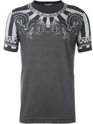футболка с принтом китайских драконов Dolce & Gabbana