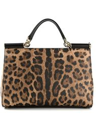 средняя сумка-тоут 'Sicily East/West'  Dolce & Gabbana
