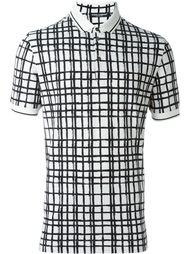 grid print polo shirt  Dolce & Gabbana