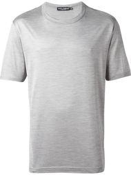 футболка с круглым вырезом Dolce & Gabbana